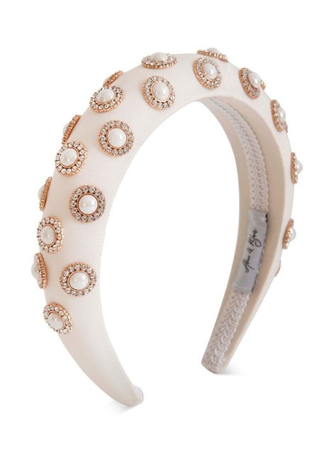 Alice & Blair Sienna Headband - White