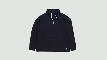 Armor Lux Sweat Col Montant Heritage navire - navy blue