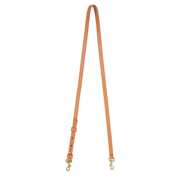 Clare V. Adjustable Crossbody Strap - Cuoio