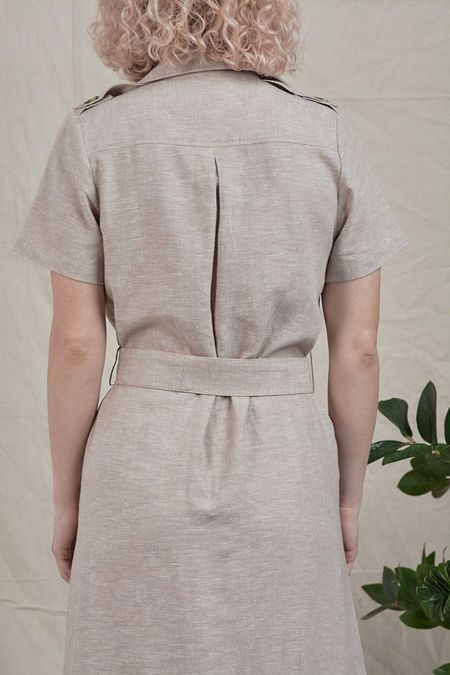Inclán Studio Brooklyn Dress - Sand