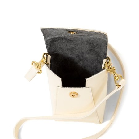 Clare V. Camille Phone Bag - Cream