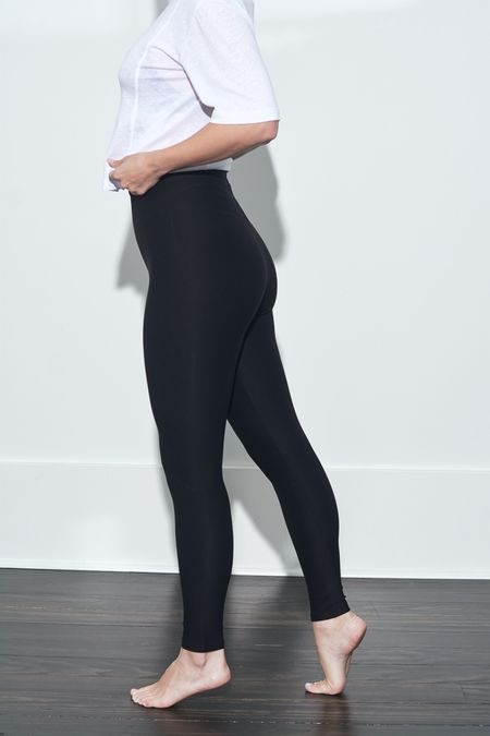 Commando Control Legging - BLACK