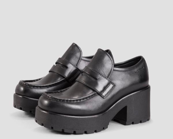Vagabond Dioon Heeled Loafer - Black