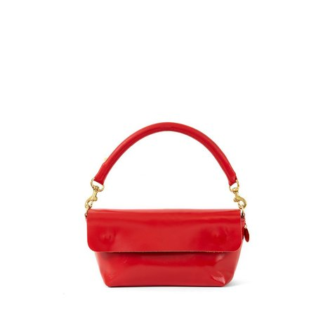 Clare V. Gustav Belt Bag - Cherry Red Chicago