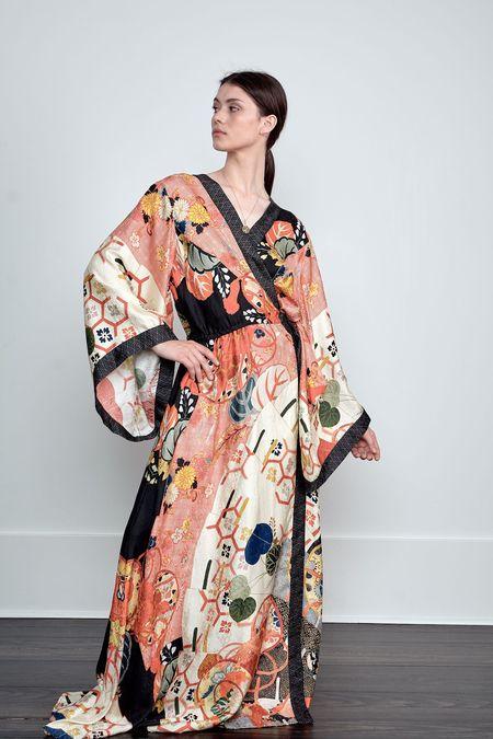 CAMILLA Kimono Wrap Dress - Kissing the Sun