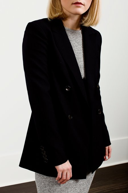 Elizabeth and James Sterling Double-Breasted Blazer - Navy