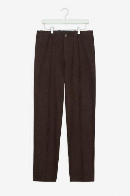 frisurclothing Jostha Flannel Trousers - Earth