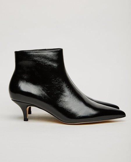 Shoe the Bear SARA KITTEN HEEL BOOT - BLACK