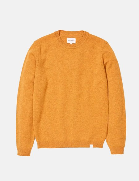 Norse Projects Sigfred Lambswool Knit Sweatshirt - Montpellier Yellow