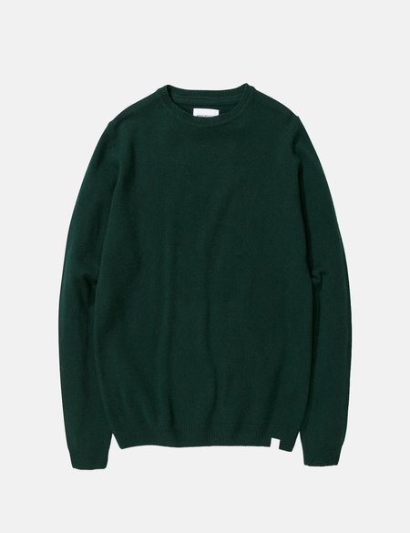 Norse Projects Sigfred Lambswool Knit Sweatshirt - Quartz Green