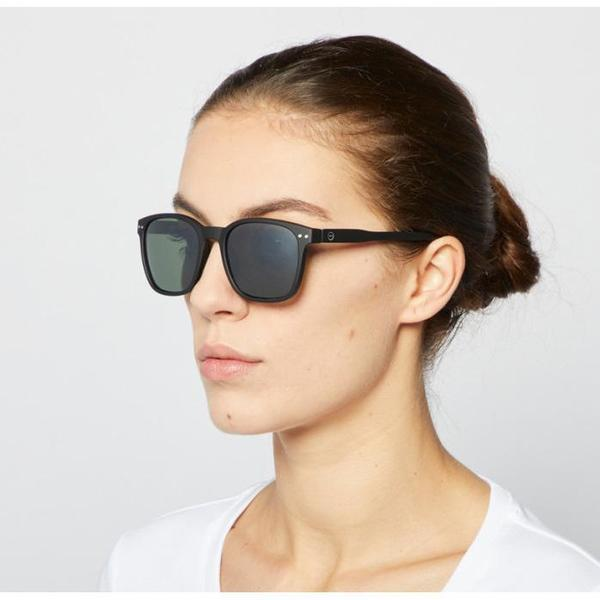 Unisex Izipizi  Nautic Polarized Sunglasses - Black
