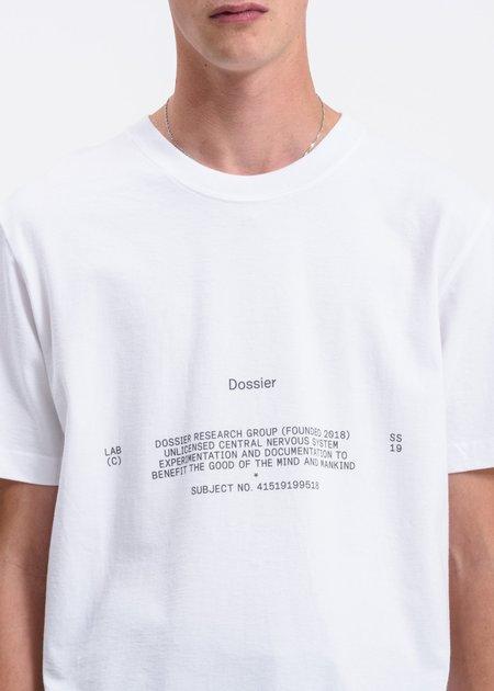 Dossier Preface T-Shirt - White