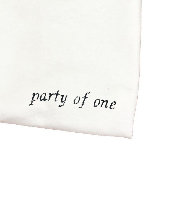 Unisex House of 950 party of one tee shirt
