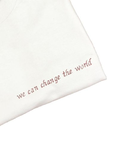Unisex House of 950 we can change the world tee shirt