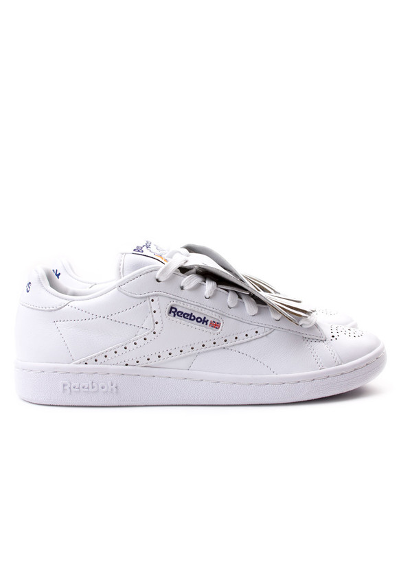 Men s Reebok Classic x Beams NPC UK White  20f27515dc