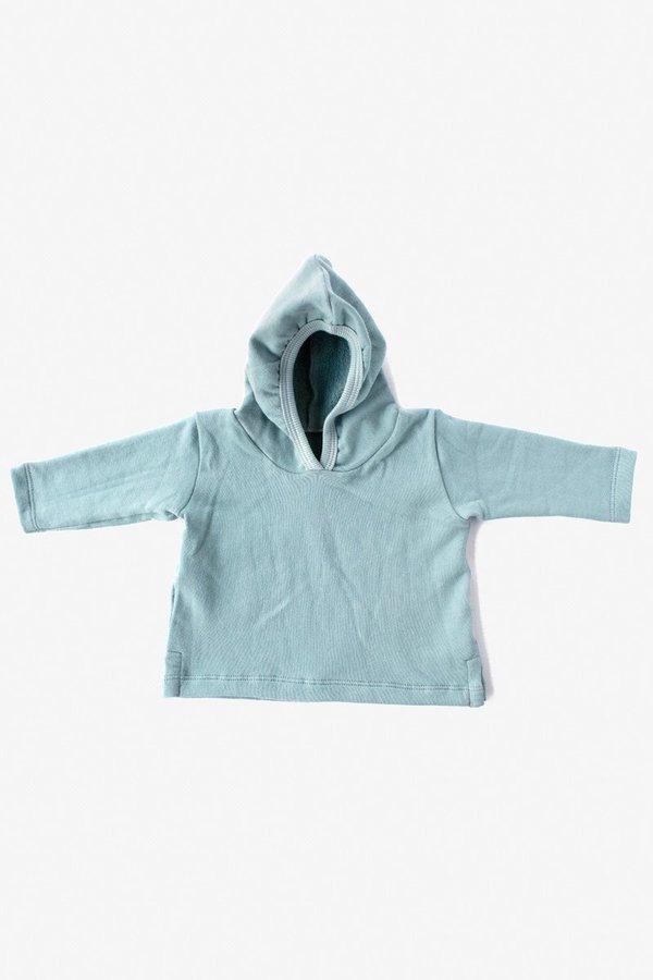 Kids North Of West Organic Hoody - Aqua