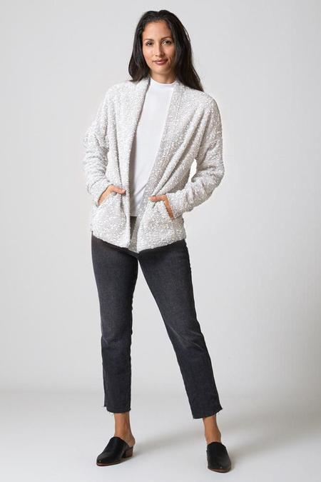 North Of West Pebble Knit Cardigan - Cream