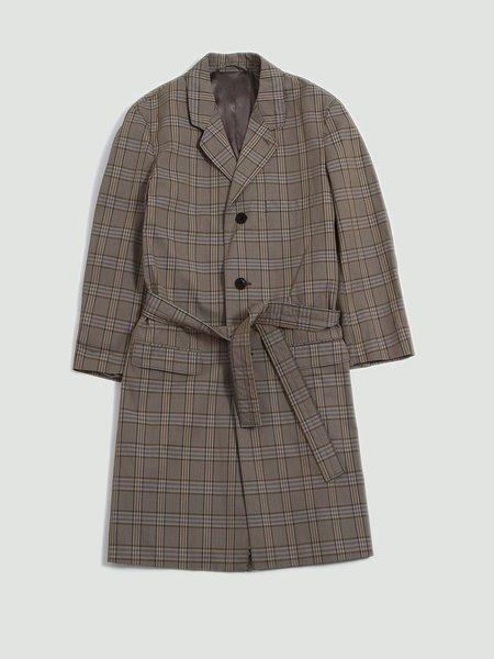 Unisex Lemaire Chesterfield suit coat - beige