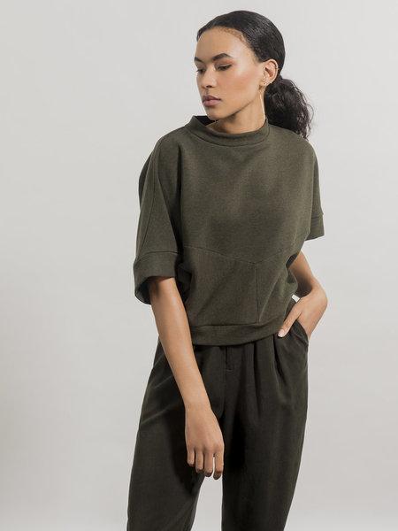Jennifer Glasgow Razia Sweatshirt - Green