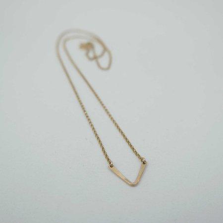 Machete Little Friend Necklace - Gold