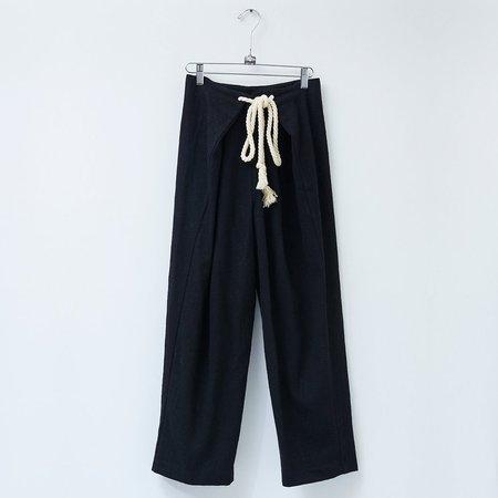 Atelier Delphine Parachute Pant - Black