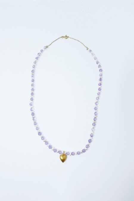 Above Average Studio Princess Necklace - Gold Fill/Freshwater Pearl