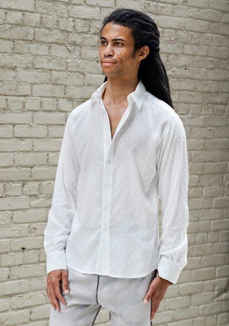 UNISEX ARIELLE MILKMAN SHIRT - RAW WHITE