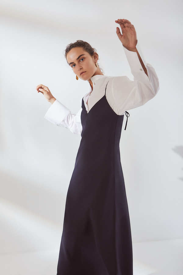 Kowtow Ada Long Slip Dress