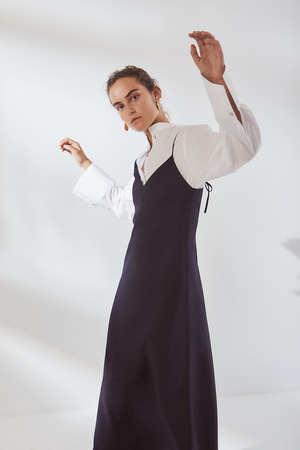 Kowtow Ada Long Slip Dress