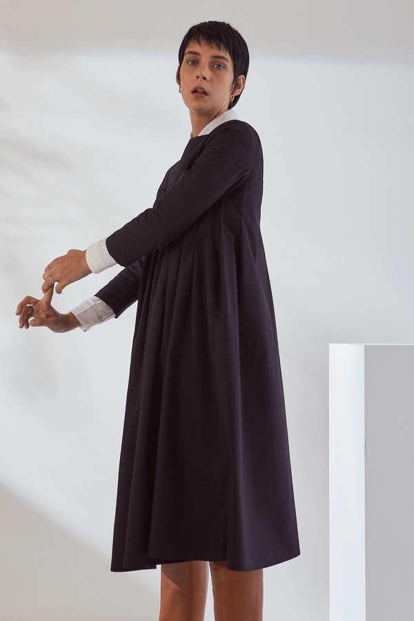 Kowtow Atelier Pleat Dress