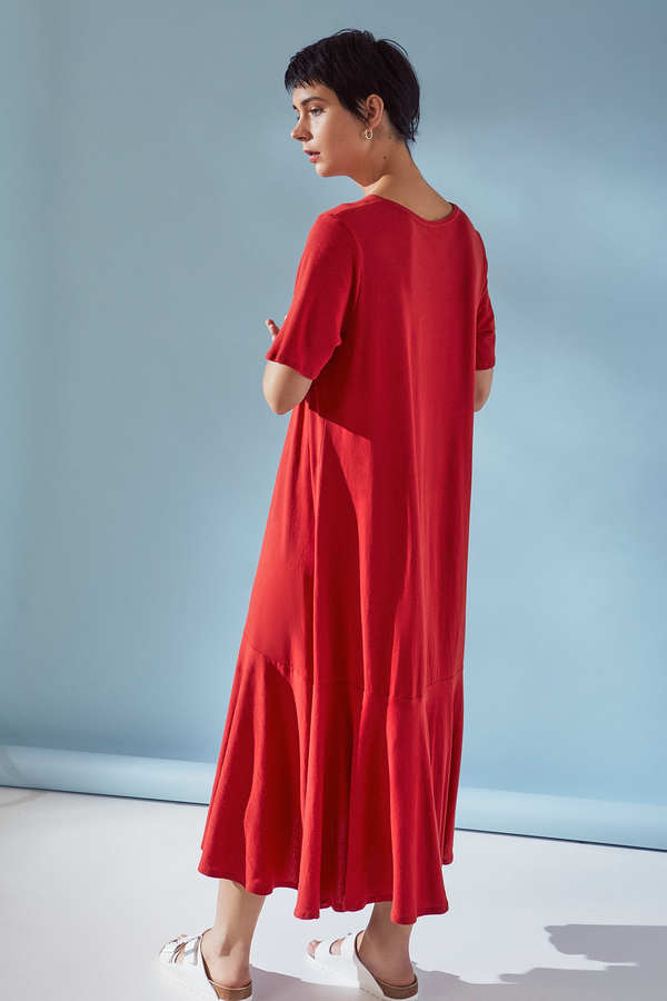 Kowtow Flare Hem Dress