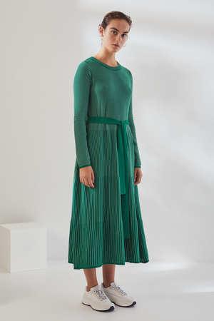 Kowtow Long Sleeve Kaolin Dress