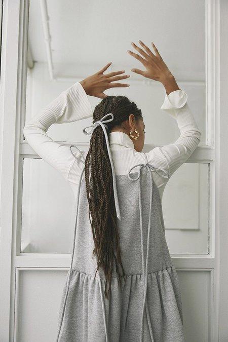 Eliza Faulkner Cece Sweater Dress - gray
