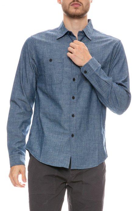 Alex Mill Chambray Chore Shirt - Blue