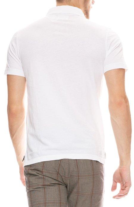 Billy Reid Cotton Polo Shirt - White