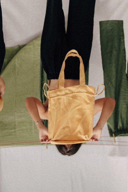 Mimi Holvast Scrunchie Tote Bag - Butter