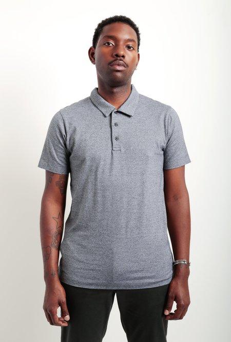 Wings+Horns Pima Jersey Polo Shirt - M Black
