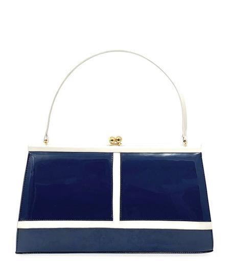 Daniele Ancarani Kaiser Handbag - Blanco/Blue