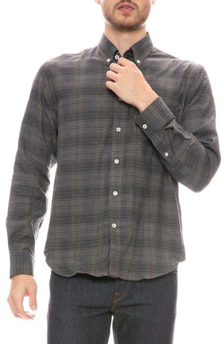 Billy Reid Tuscumbia Button Down Shirt - Grey