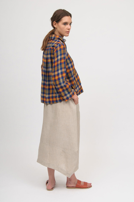 Eka Fennel Skirt - Natural