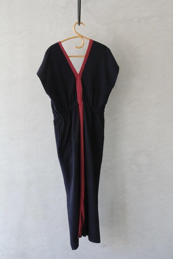 AISH AVA Kaftan/Dress - Indigo