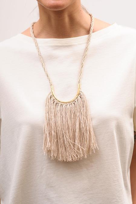 Erin Considine Lunate Fringe Necklace