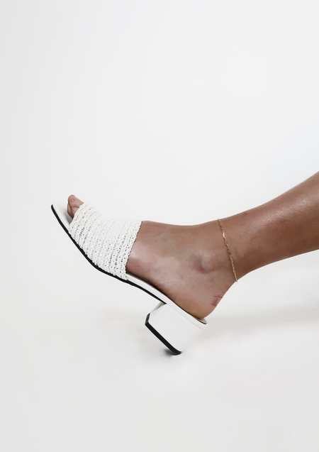 Above Average Studio Chain Anklet - Gold