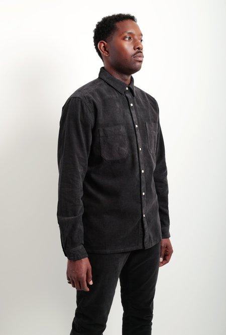 life/after/denim Manchester Cord Shirt Jacket - Black