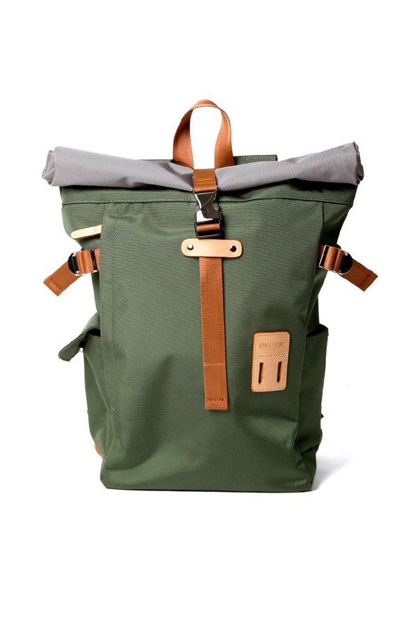 Harvest Label Rolltop Backpack - Olive