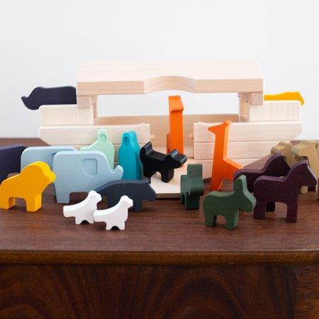 Kids Shop Merci Milo Wooden Noah's Ark Set