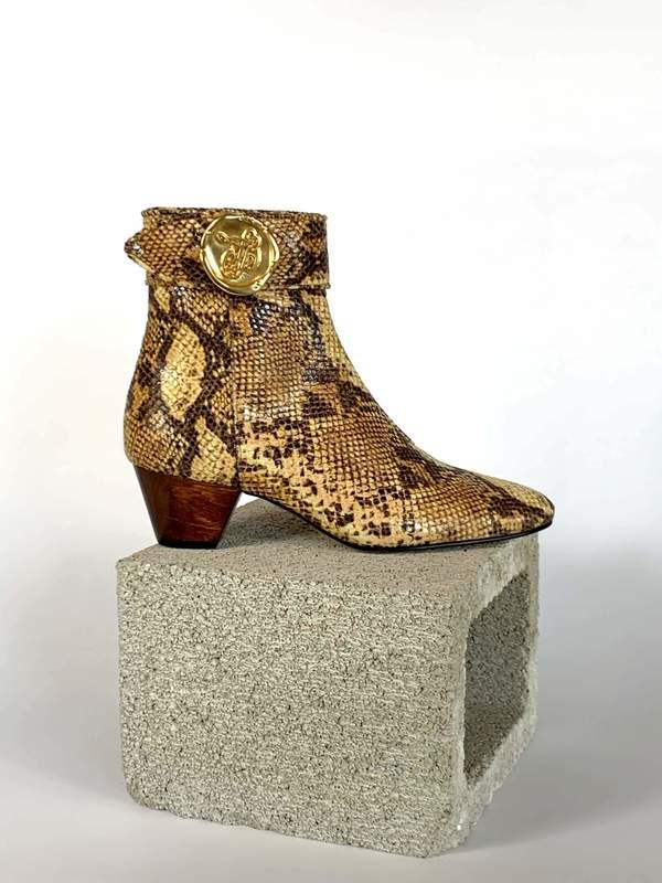 Taylor + Thomas Anita Boots - Golden Python