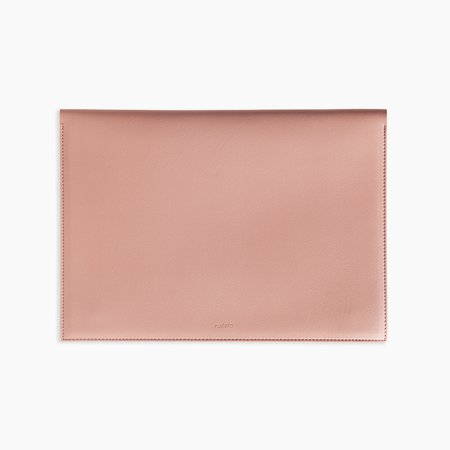 Poketo Large Minimalist Folio - Blush