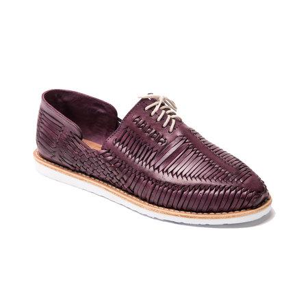 Cano BENITO Oxford - Purple/White Sole
