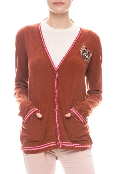 Le Superbe Silly Tiger Cardigan - SPICE